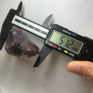 ONLY 1 AVAILABLE - 48.9g Genuine Highest Grade Raw Auralite-23 Crystal | Spiritual Cleansing Healing Tool | Highest Vibration Seeker Transformer Crystal for Powerful Pocket Protection and Healing Chakra Meditation