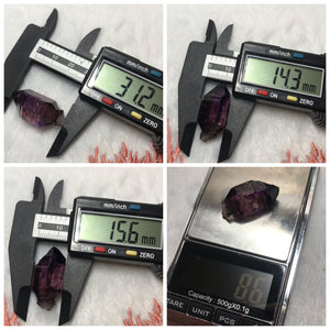 Extremely RARE Brazilian Super Seven Crystal formed with Water Bubble | 8.6g Mineral Specimen | 7 Chakra Healing - Finding Clarity and Processing Emotions