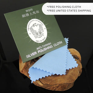 Free Polishing Cloth included in your order