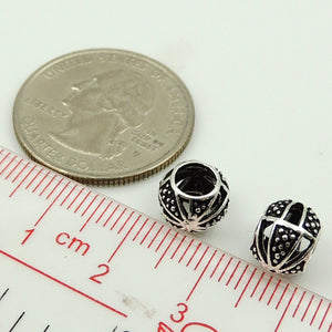 4 PCS Abstract Artistic Charms - S925 Sterling Silver - Wholesale by Gem & Silver WSP115X4