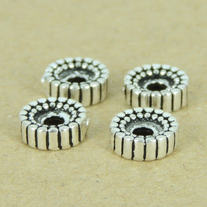 4 PCS Wheel Spacers - S925 Sterling Silver WSP393X4