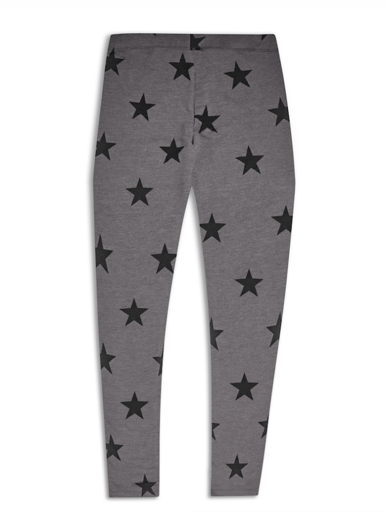 SUGAR SQUAD STAR PRINT LEGGINGS - Fashion Trendz