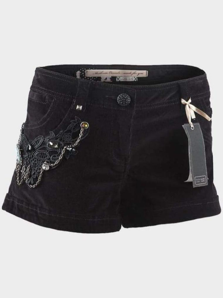 AUTHENTIC CASUAL LADIES CORD SHORTS - Fashion Trendz