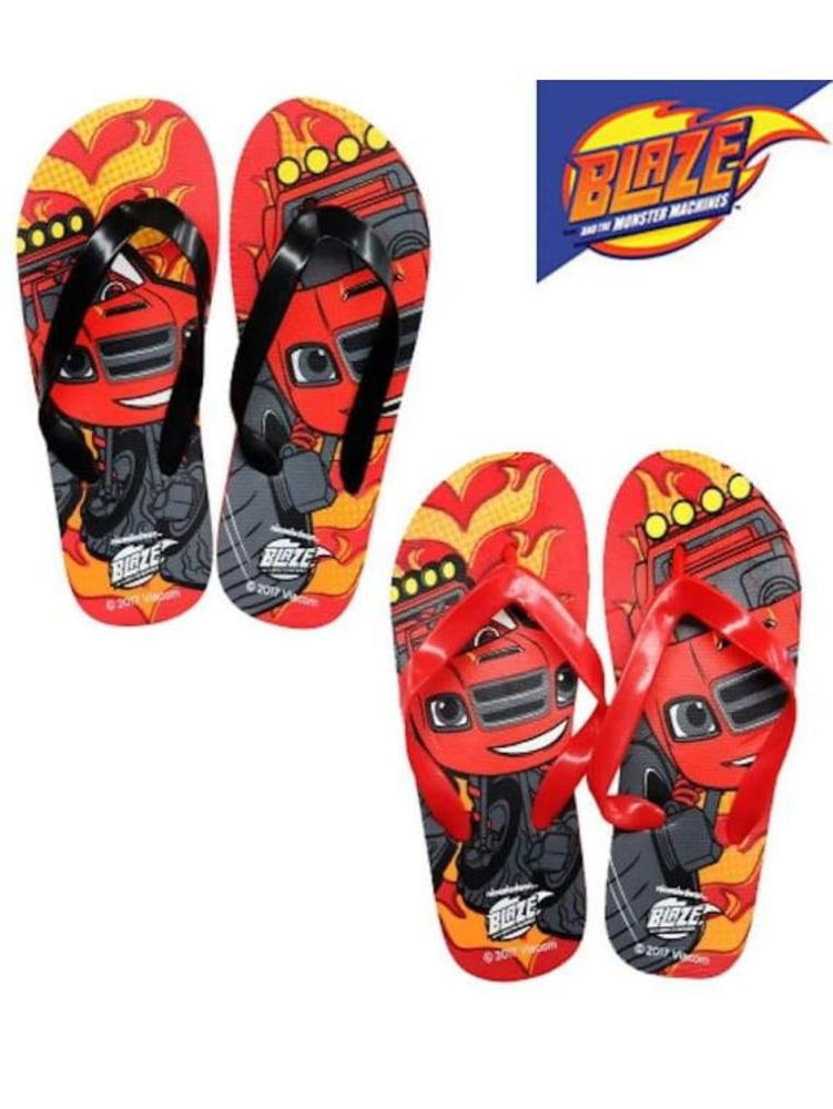 BLAZE MONSTER MACHINE FLIP FLOPS