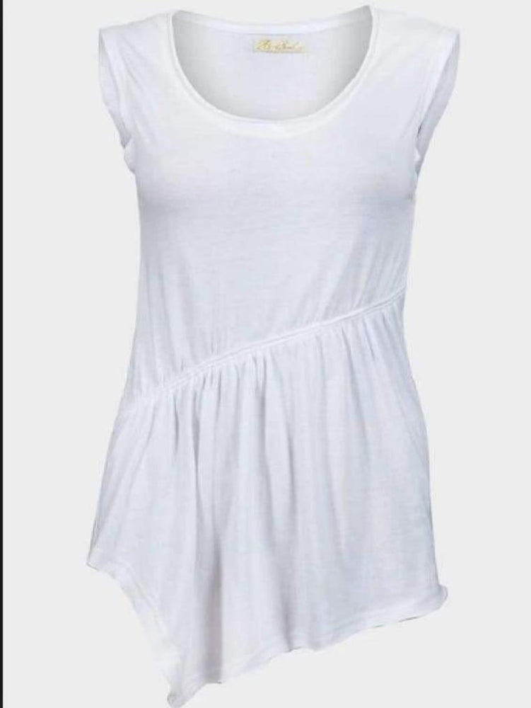 BRAVE SOUL LADIES SLEEVELESS TOP WHITE