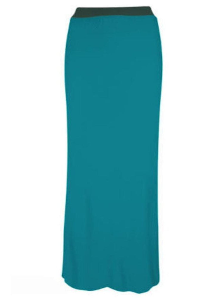 LONG MAXI SKIRT TEAL