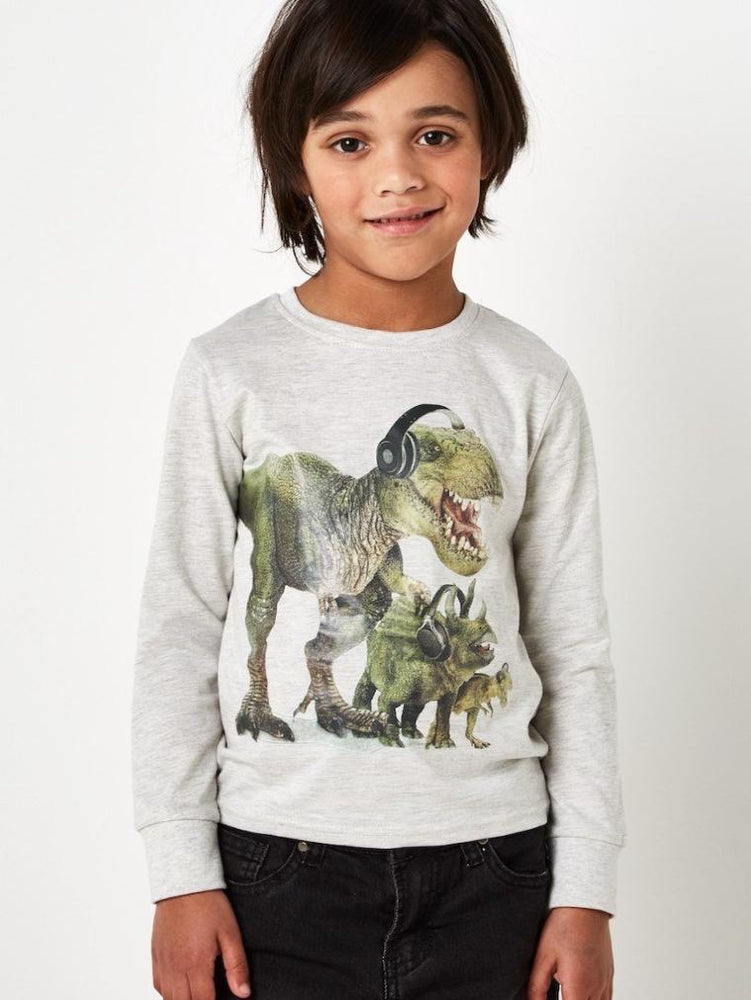 RIOT CLUB DINO LONG SLEEVE TOP - Fashion Trendz