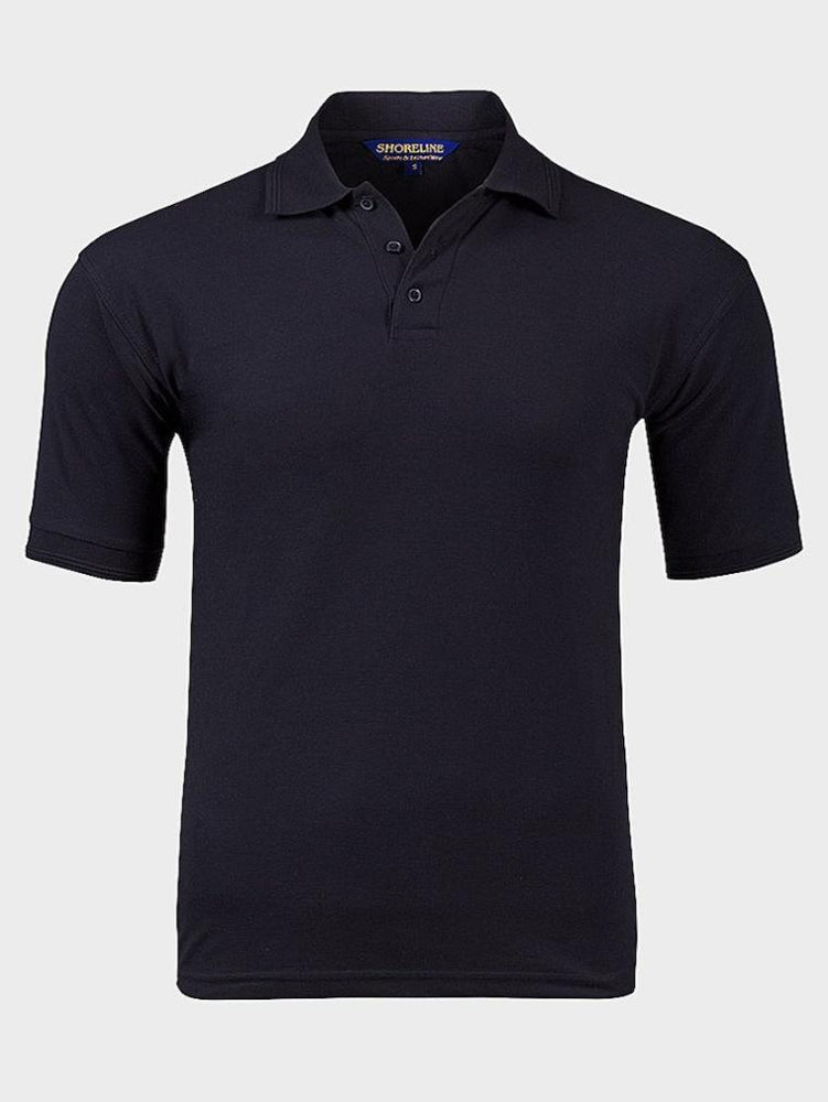SHORELINE MENS SHORT SLEEVE POLO SHIRT