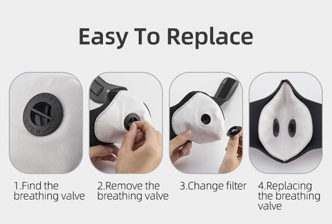 reusable n95 mask replacement filters