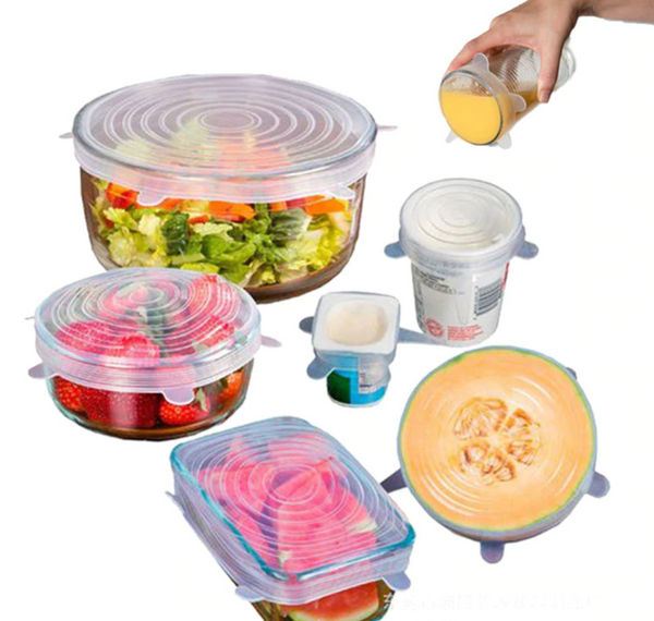 Reusable Toxin Free Food Savers (6 Pack) 50% Off!