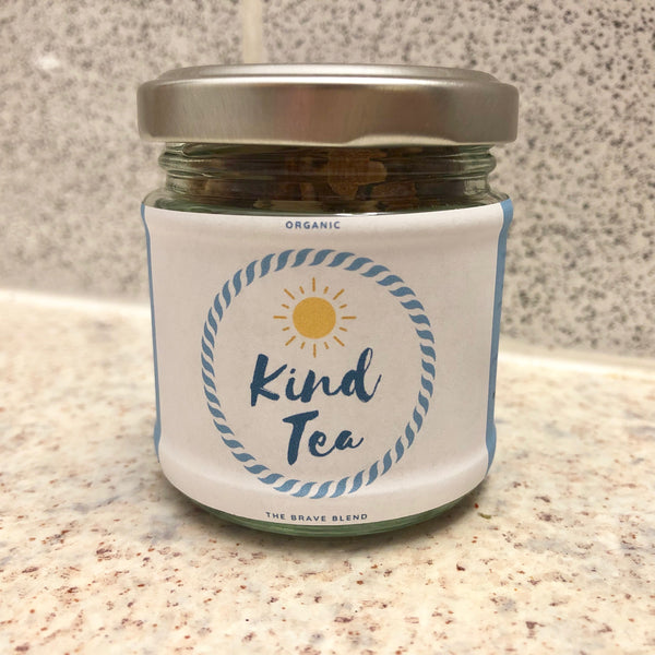 Kind Tea from Honest Miracle Family Organics - lavender tea - elderberry tea - rosehip tea - hibiscus tea - plastic free tea uk organic loose leaf tea uk