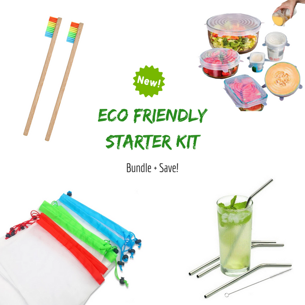 Eco Friendly Starter Kit (Bundle + Save Over 33%)