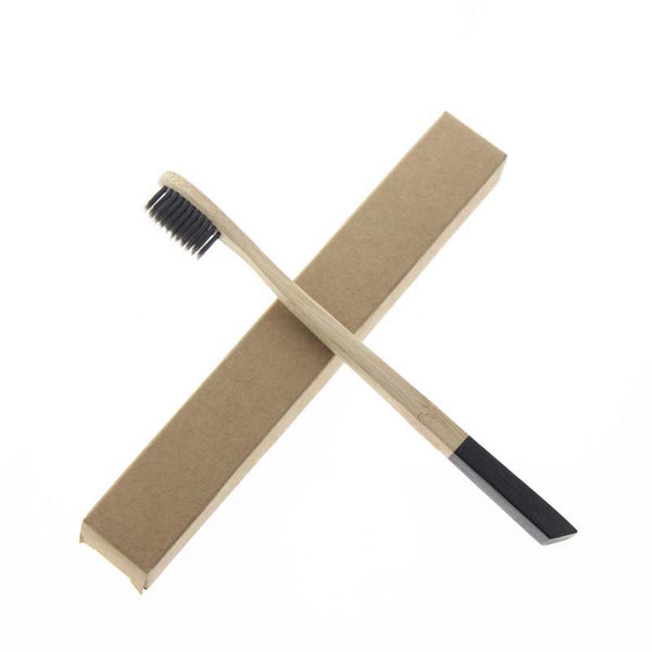 Bamboo Toothbrushes Set (2 brushes)
