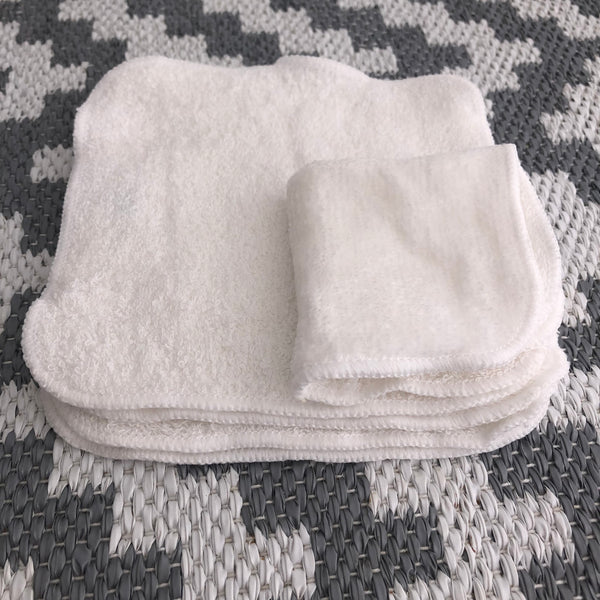Reusable Bamboo Toilet Tissue Family Cloth Wipes