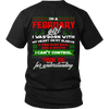 Limited Edition ***February Girl Christmas Back Print*** Shirts & Hoodies