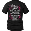 Limited Edition ***October Girl Don't Care About Your Money Back Print*** Shirts & Hoodies