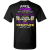 Limited Edition April Sweet Women Back Print Shirts & Hoodies