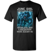 Limited Edition **June Girl Can't Go To Hell** Shirts & Hoodie