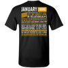 Limited Edition January Born Long Quote Shirts & Hoodies