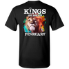 Limited Edition February Born Lion King Shirts & Hoodies