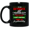 Limited Edition Christmas October Black Mug