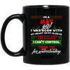 Limited Edition Christmas May Black Mug