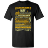Limited Edition **Legends Are Born In May Front Print** Shirts & Hoodies
