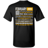 Limited Edition February Born Long Quote Shirts & Hoodies