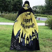 Happy Halloween Shawl Wrap Costume For Women