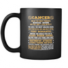 Cancer Long Quote Mug