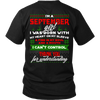 Limited Edition ***September Girl Christmas Back Prints*** Shirts & Hoodies