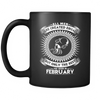 Best Men Are Born In February Mug