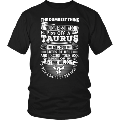 The Dumbest Thing Taurus Women Shirt, Hoodie & Tank