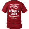 Limited Edition ***October Lady*** Shirts & Hoodies