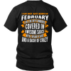 Limited Edition ***Not Just Born In February** Shirts & Hoodies