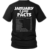 Limited Edition ***January  Guy Facts*** Shirts & Hoodies