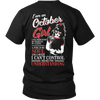 Limited Edition ***I Am An October Girl*** Shirts & Hoodies