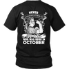 Limited Edition ***Old Lady Born In October*** Shirts & Hoodie