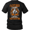 Limited Edition October Women Play With Fire Back Print Shirt