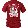 Limited Edition ***Old Lady Born In January*** Shirts & Hoodies