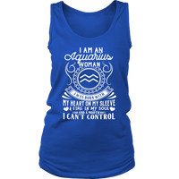 I Am An Aquarius Women - Limited Edition Shirt, Hoodie & Tank