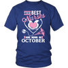 Best Nurses Are Born In October Women Shirts, Hoodie & Tank