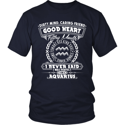 T-shirt - GOOD HEART - AQUARIUS T-SHIRT