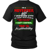 Limited Edition ***November Girl Christmas Back Print*** Shirts & Hoodies