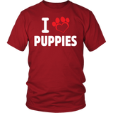 I love Puppies - PuppyShirts