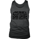 Nurse Dog Lover Men's Tank Top