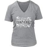 Vet Tech Women's V-Neck - PuppyShirts