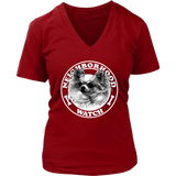 Neighborhood Watch Women's V-Neck - PuppyShirts