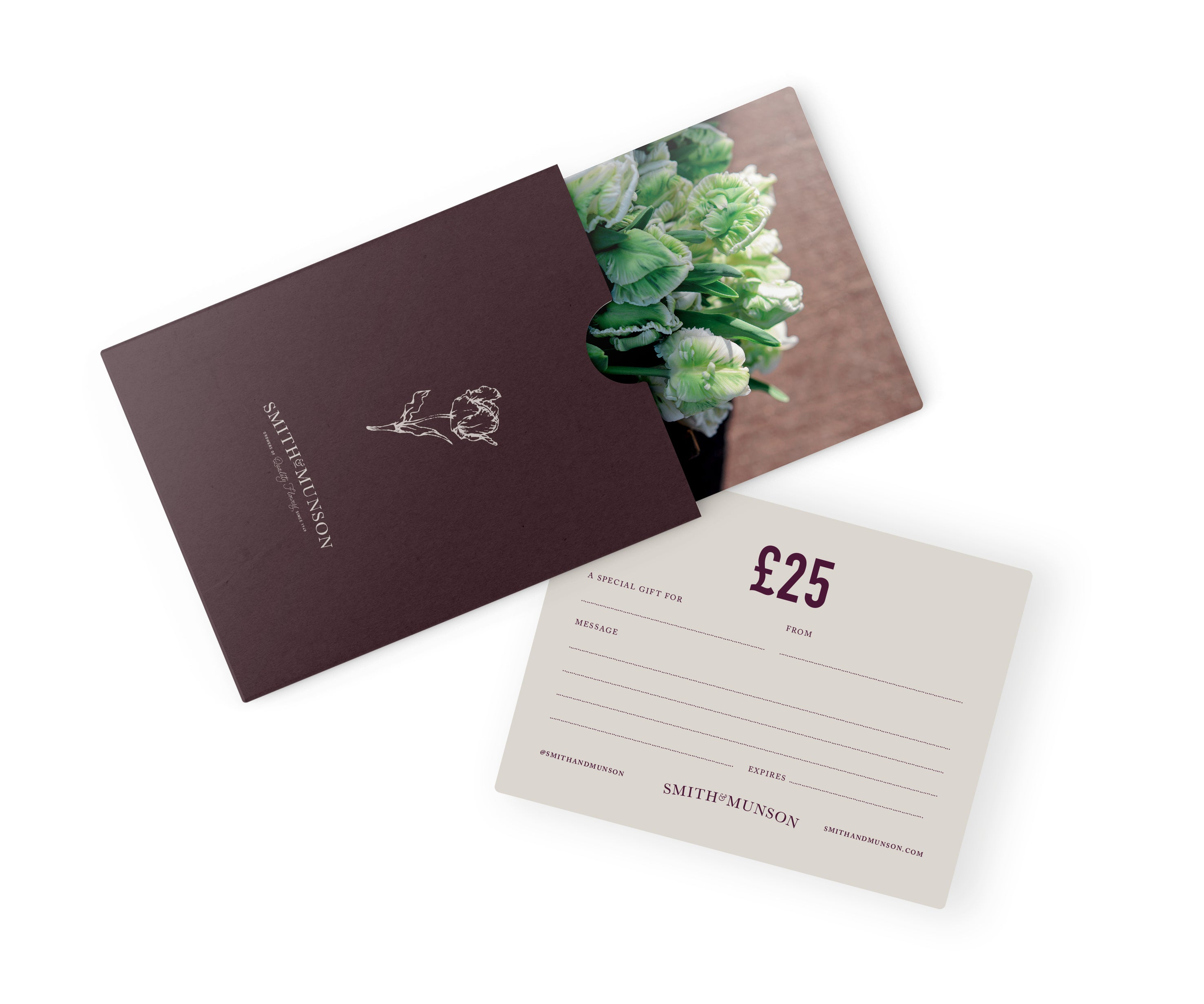 Smith & Munson Tulip Gift Card Voucher