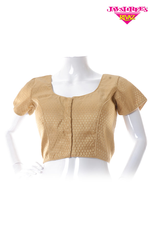 Gold Woven Blouse